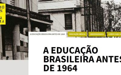 A educação brasileira antes de 1964