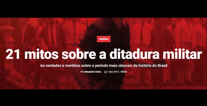 Superinteressante publica 21 mitos sobre a ditadura militar