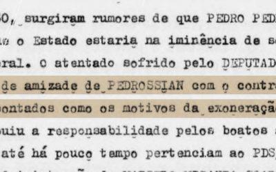 Na ditadura, militares sabiam que políticos traficavam armas e drogas na fronteira