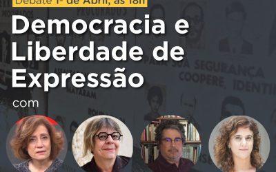 LIVE: Democracia e Liberdade de Expressão